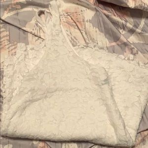 White Lace AE Tank